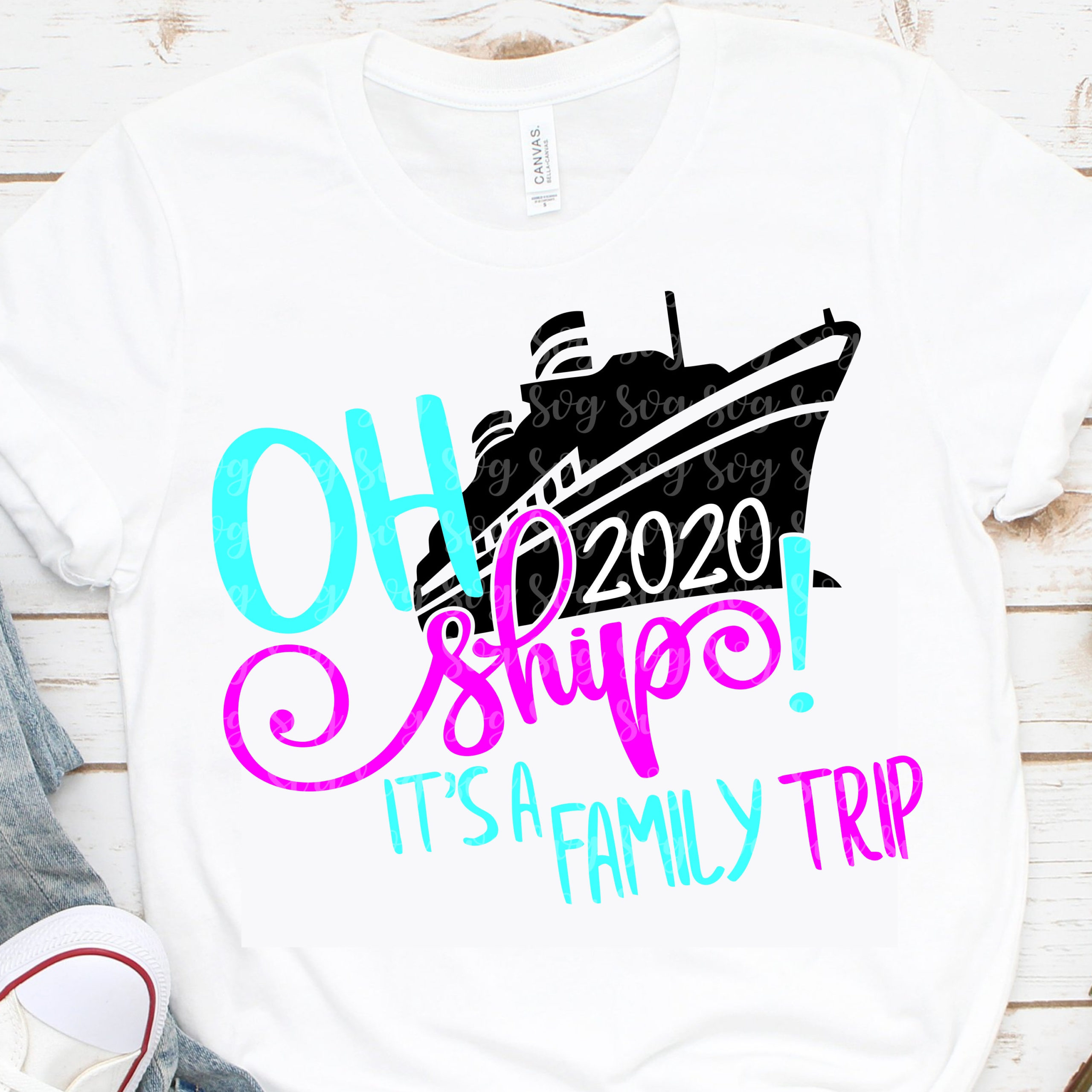 2020 Oh Ship Svg It S A Family Trip Svg Cruise Svg Family Vacation Svg Nautical Svg Boat Svg Cruising Svg Vacation Svg Cruise Ship Svg Svg For Cricut