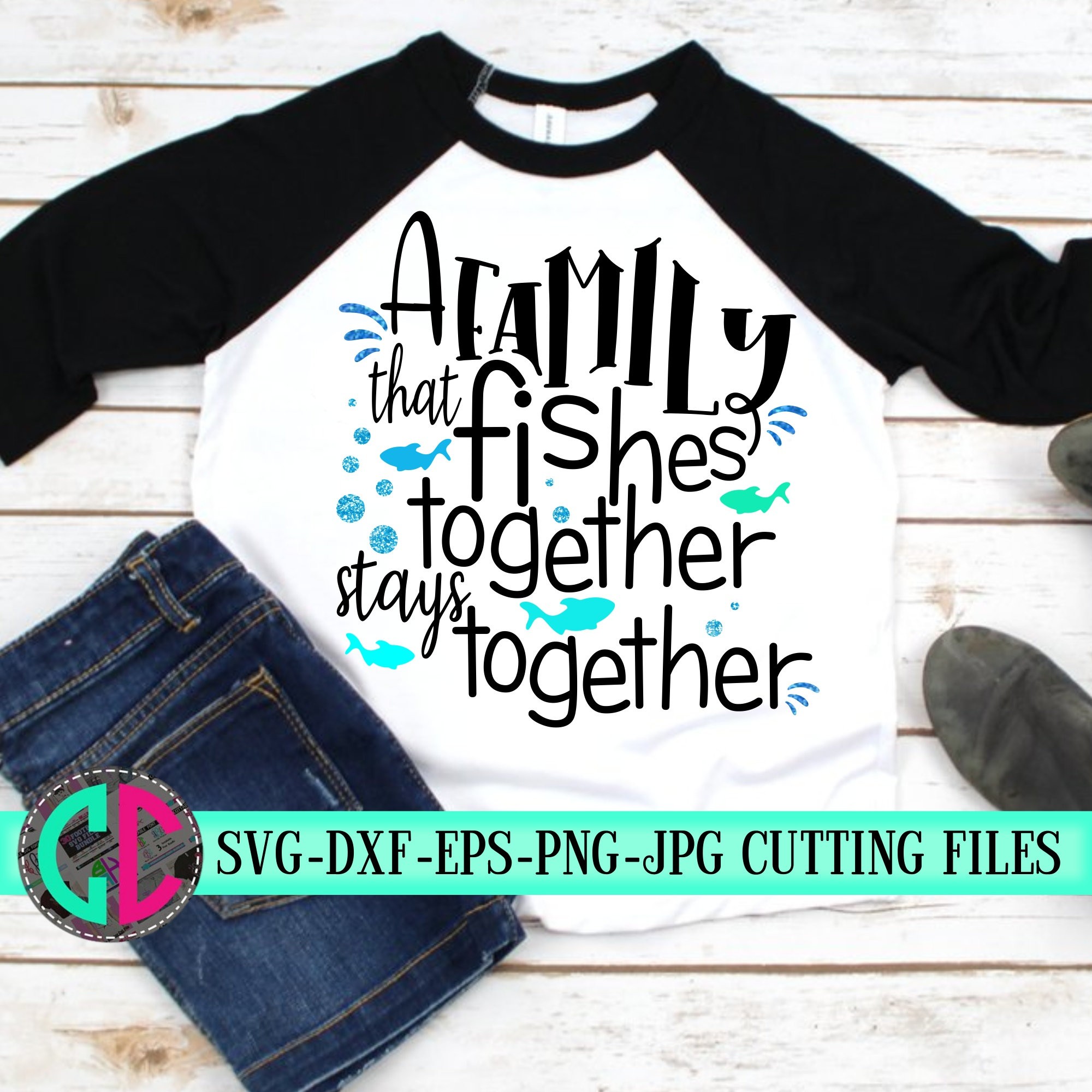 Download A Family That Fishes Together Svg Fishing Svg Fish Svg Matching Shirts Tshirt Svg Svg Fishing Svg For Cricut Silhouette Cut Files Bundle Svg Svg For Cricut