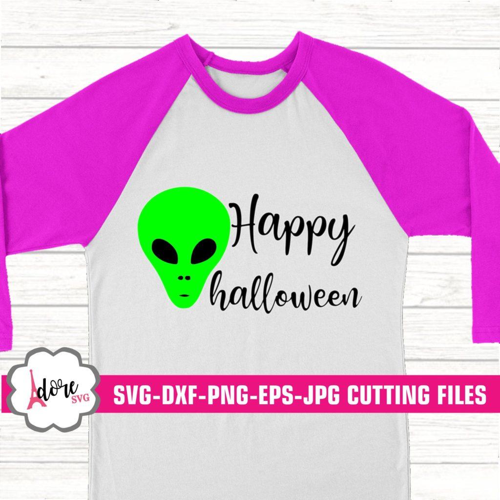 Area 51 Svg Alien Halloween Svg Halloween Svg Alien Svg Happy Halloween Svg Digital Download Commercial Use Svgs Dxf Eps Adore Svg Svg For Cricut