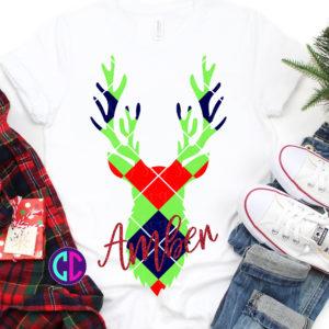 Argyle-plaid-deer-svg-easy-weed-svg-svg-files-for-cricut-deer-head-svg-argyle-plaid-svg-tshirt-svg-christmas-svg-bow-svg-iron-on-5e2218d6