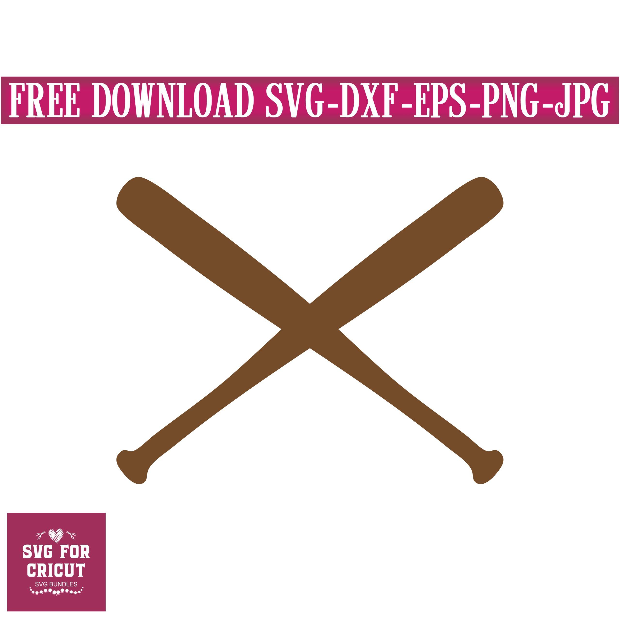 Download FREE SVG, baseball bats svg,svg for cricut,baseball svg ...
