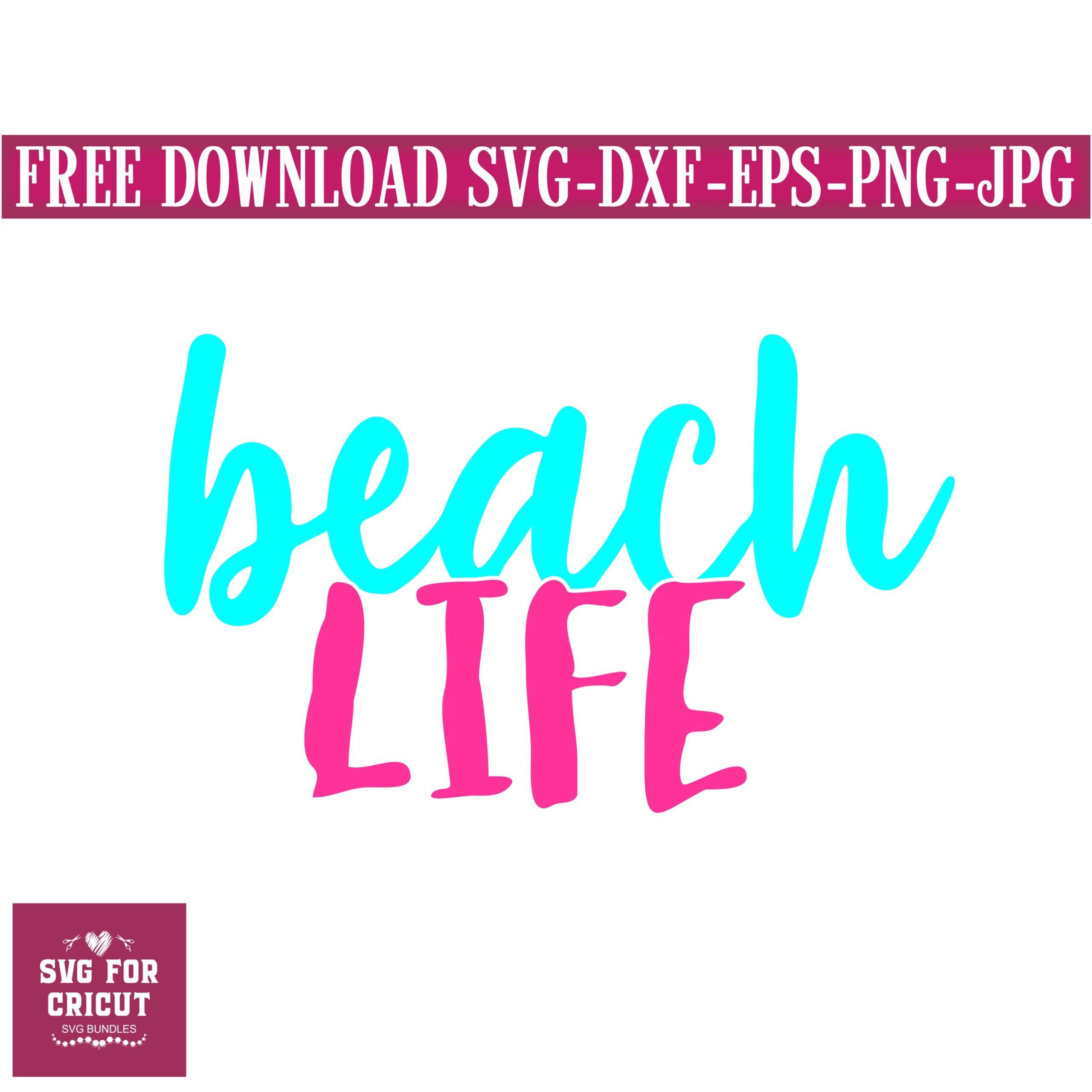 Beach-life-svg