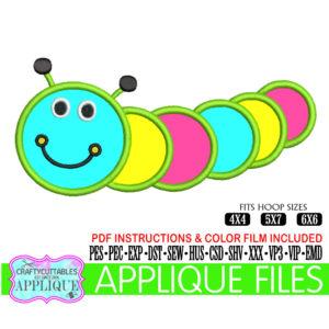 Caterpillar-appliquecaterpillar-applique-filecaterpillar-embroiderycaterpillar-appliquescricut-designssilhouette-designs-5e21d1b9