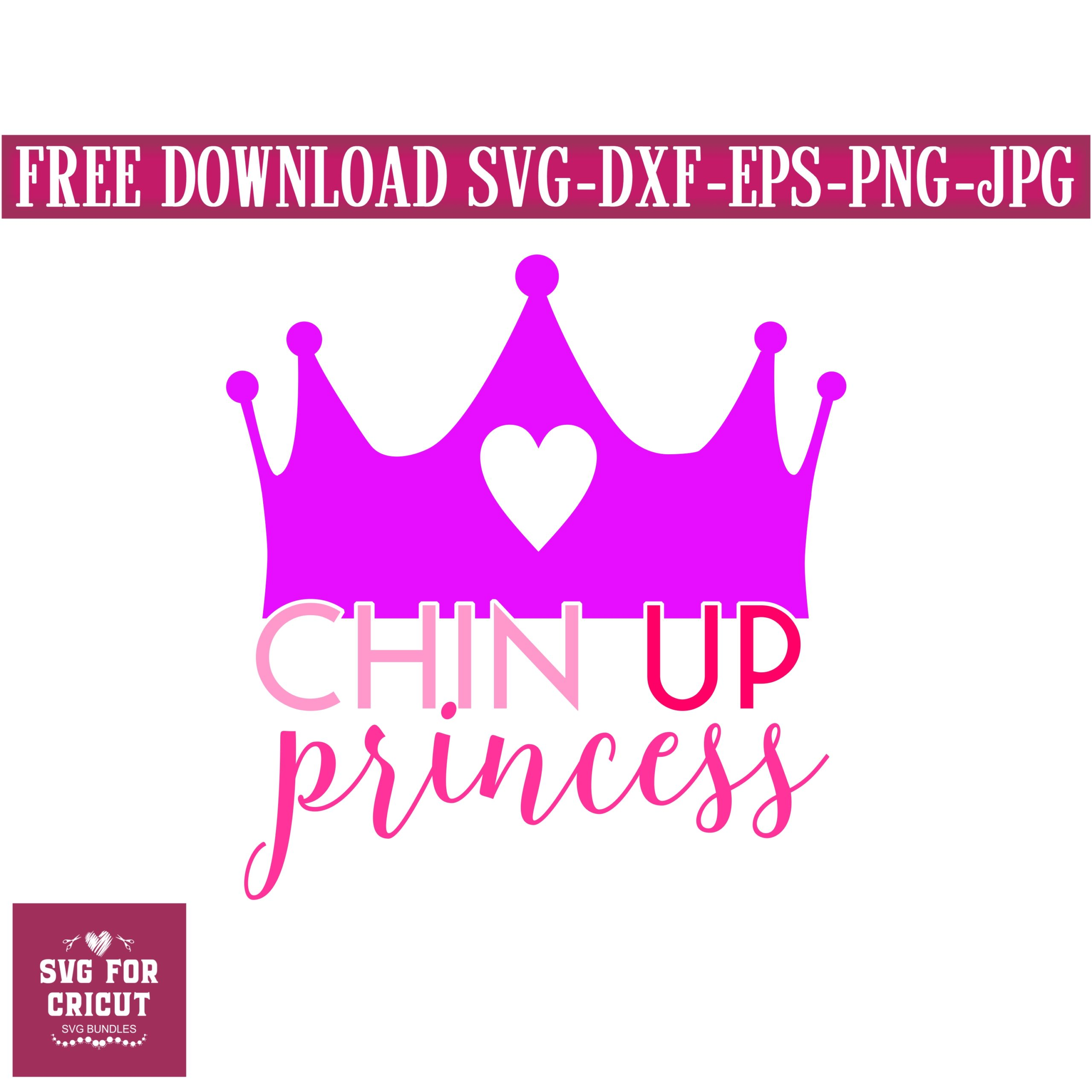 Chin-up-princess-svg