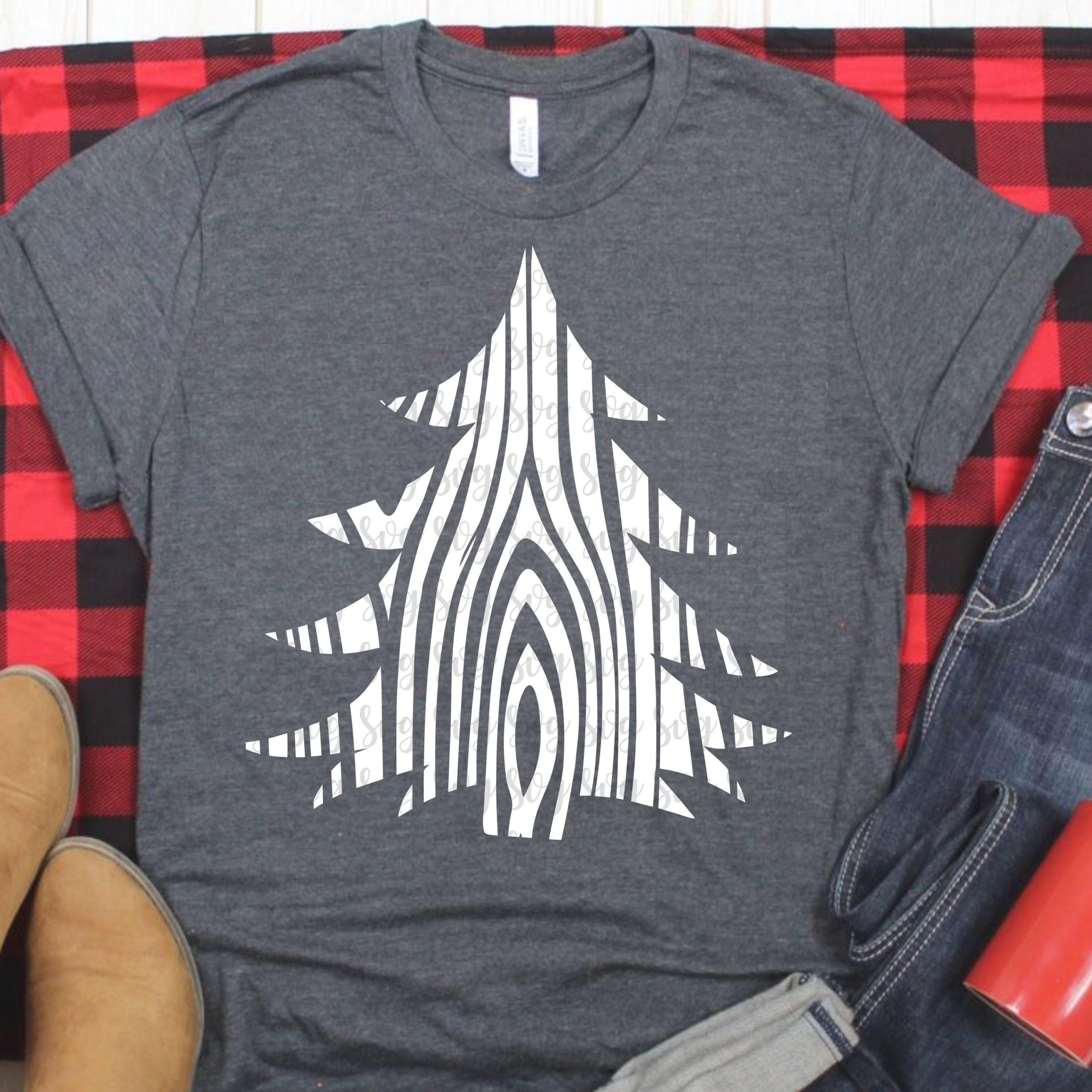 Christmas tree svg, wood SVG, rustic svg, Christmas svg ...