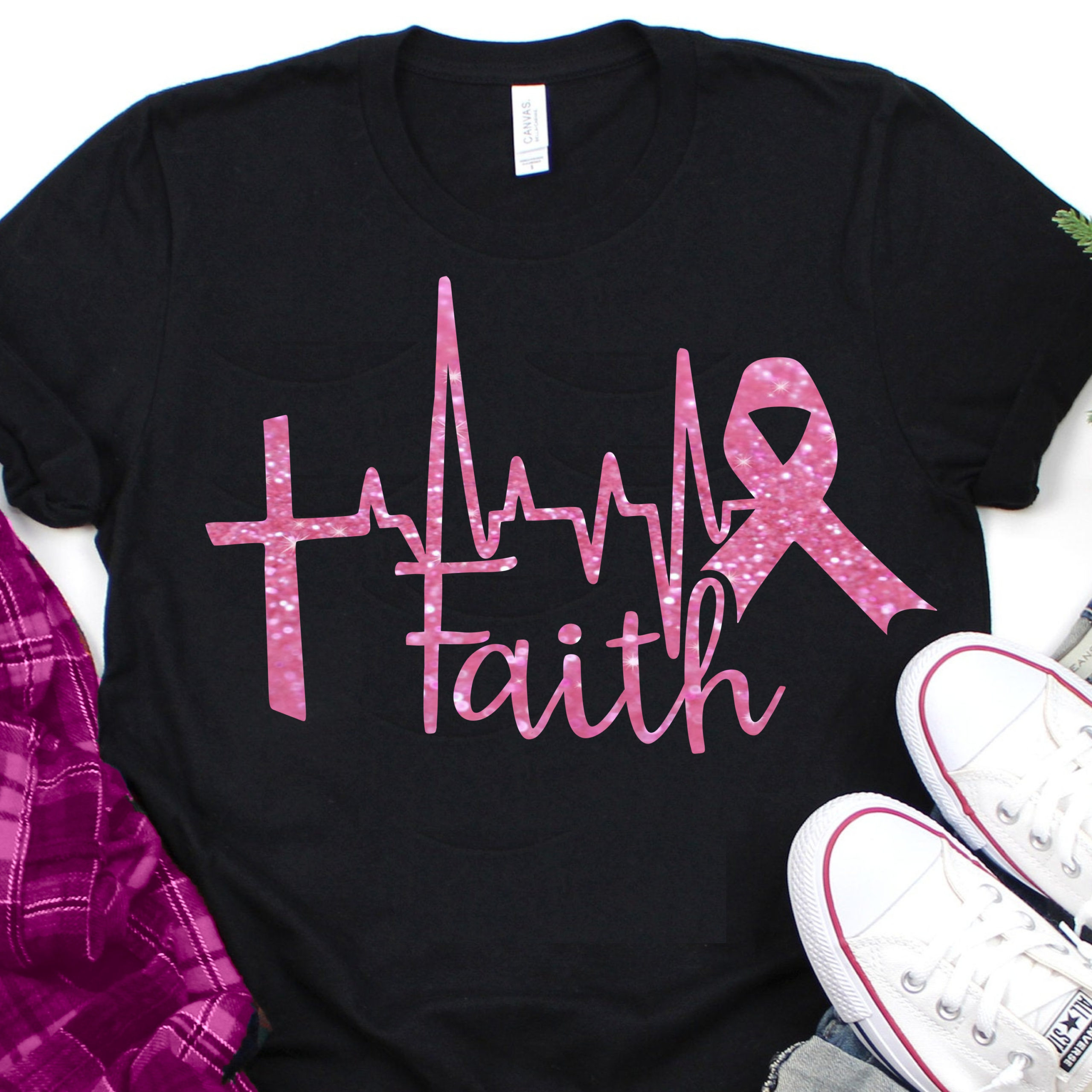 Cross-heartbeat-ribbonbreast-cancer-svgcancer-survivor-svgfaith-ribbon-svgbreast-cancer-tshirtcricut-designssilhouette-designs-5e220534