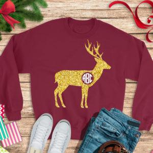 Deer-antler-monogram-svgmonogram-deersvg-deer-monogramdeer-antlerscircle-monogramdeer-antlercricut-designssilhouette-designs-5e21d56c
