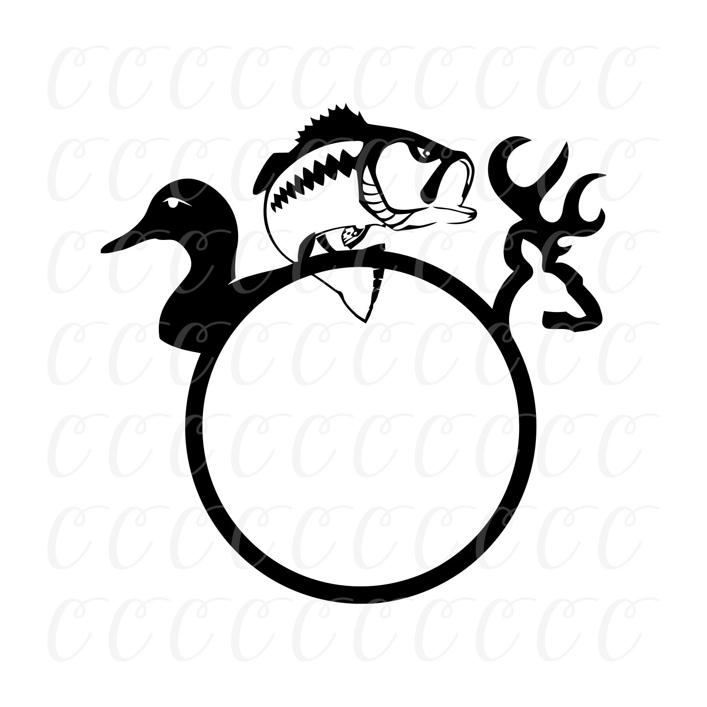 Download Fishing Monogram Svg Duck Hunting Svg Hunting Svg Hunting Monogram Svg Tshirt Svg Hunting Svgs Deer Svg Cricut Designs Silhouette Designs Svg For Cricut