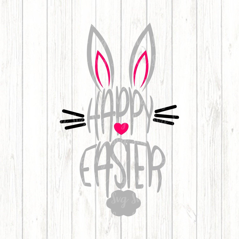Easter bunny Easter SVG Bundle includes 50 designs Easter bundle svg for Silhouette and Cricut Easter vinyl shirt Svg fot boys and girls