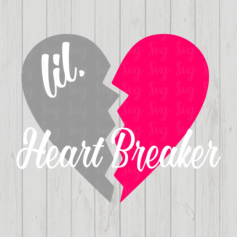 Valentine SVG Love Heart Svg Love SVG CriCut Files svg jpg png dxf Silhouette heart breaker svg Valentines Day SVG valentines t shirt
