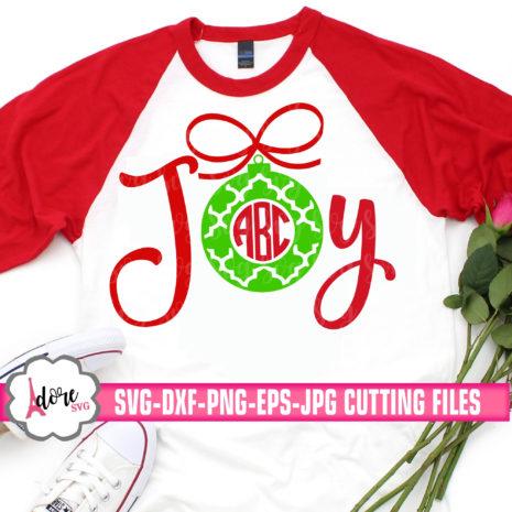 Download joy monogram svg, christmas svg, merry christmas,ornament ...