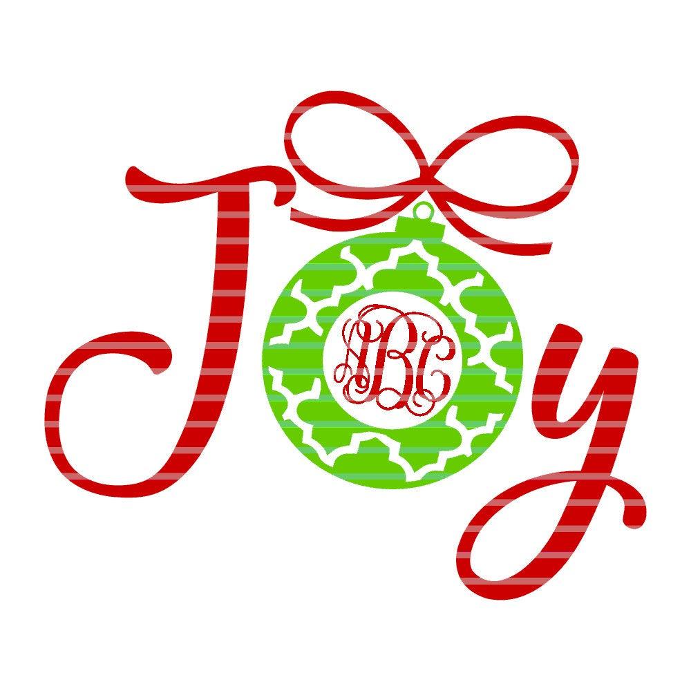Download Joy Monogram svg,Monogram Joy svg,Christmas Monogram svgs ...