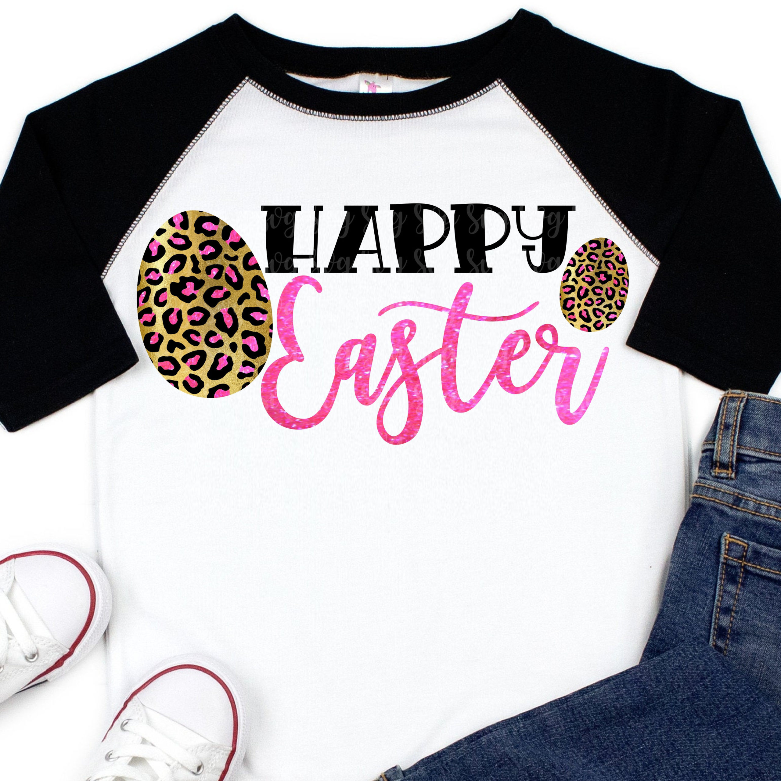 Leopard Print Happy Easter Svg Dxf Png Eps File For Cutting Machines Cricut Easter Egg Svg Plaid Svg Easter Svg Leopard Svg Svg For Cricut Svg For Cricut