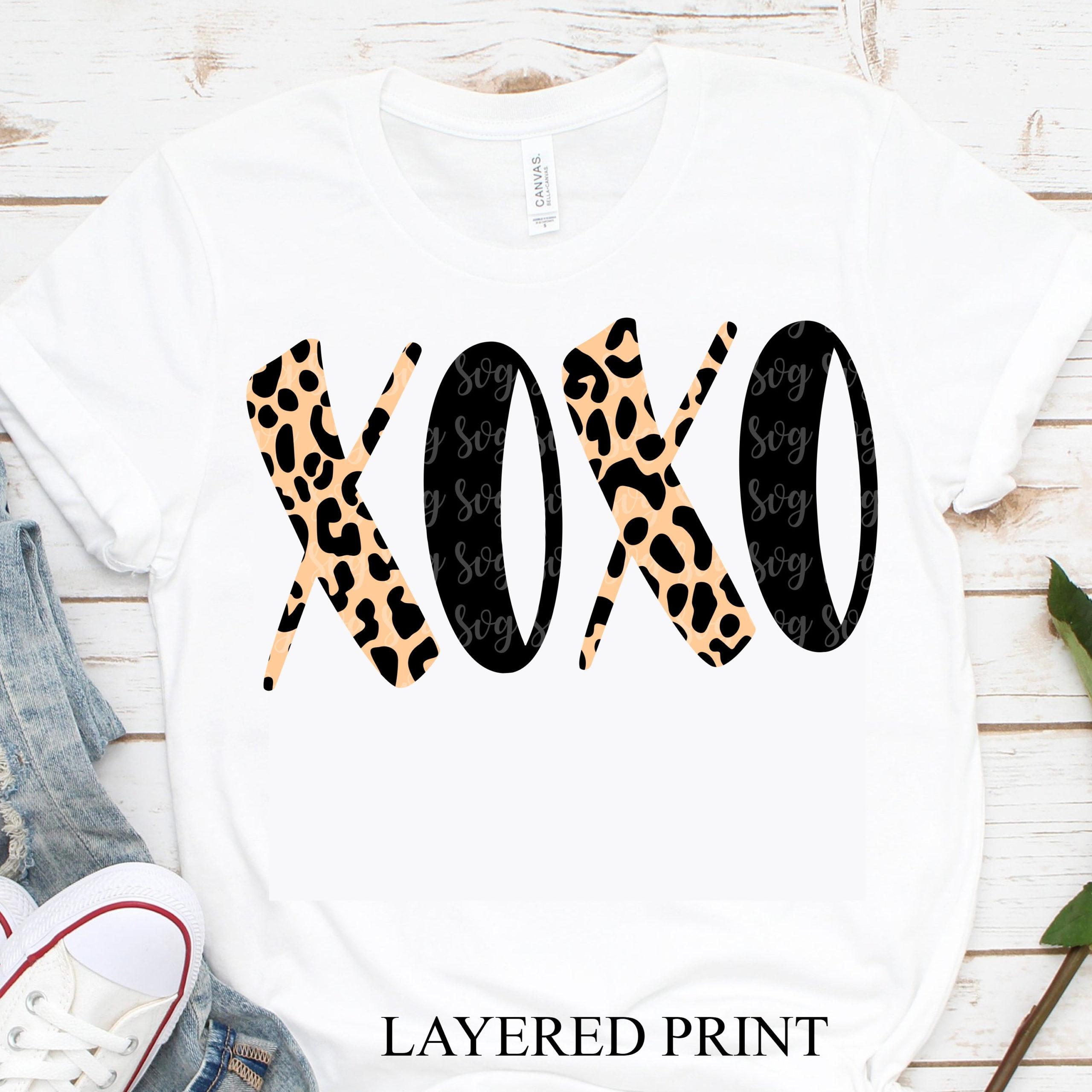 Leopard Print Xoxo Svg Valentine Xoxo Svg Valentine Svg Cheetah Print Svg Valentine Tshirt Svg Svg For Cricut Xoxo Svg Leopard Print Svg Svg For Cricut