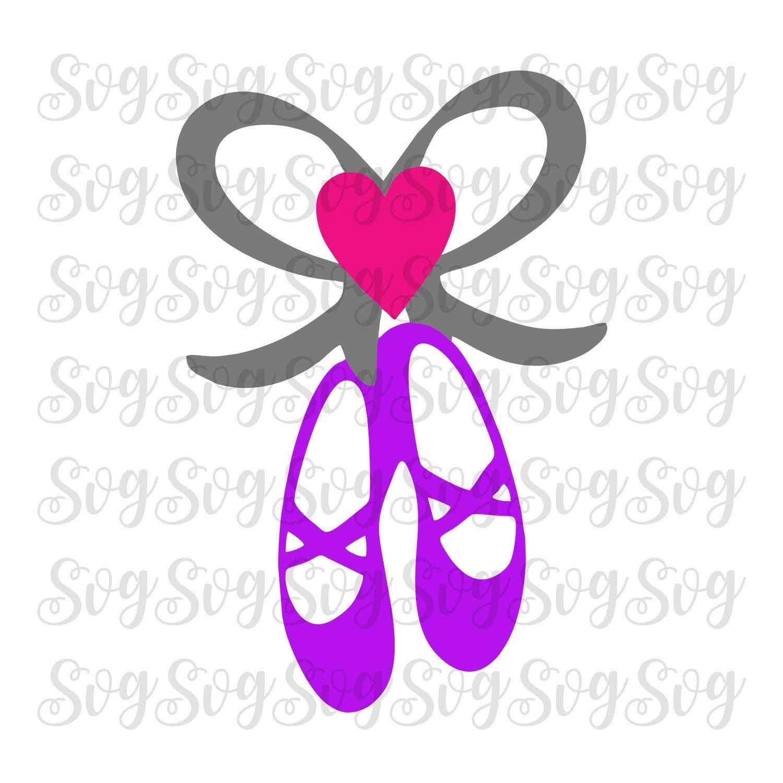 Love Dance Svg Ballet Slippers Ballet Slippers Svg Ballet Slipper Ballet Svg Dance Svg Ballet Dance Svg Cricut Design Silhouette Design Svg For Cricut