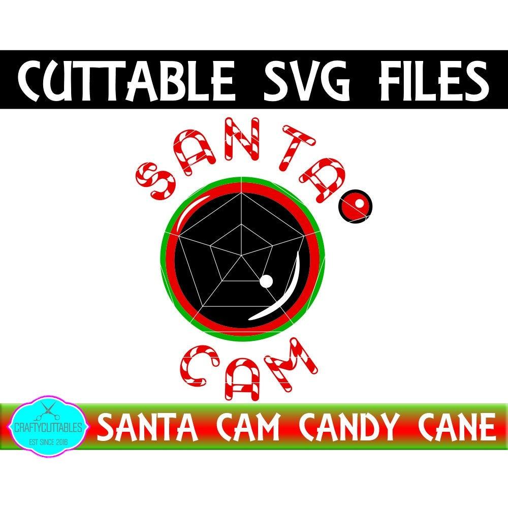 Santa Cam Svg Santa Cam Svg Christmas Cam Svg Santa Camera Svg Elf Cam Svg Candy Cane Santa Cam Cricut Designs Silhouette Designs Svg For Cricut