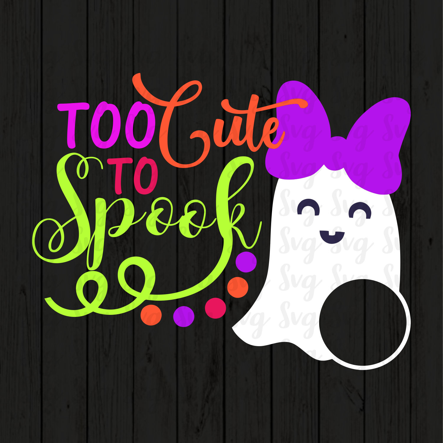 Too Cute To Spook Svg Halloween Svg Ghost Svgs Ghost Monogram Svg Ghost Svg Boo Svg Halloween Cut File Halloween Svg Design Svg For Mobile Svg For Cricut