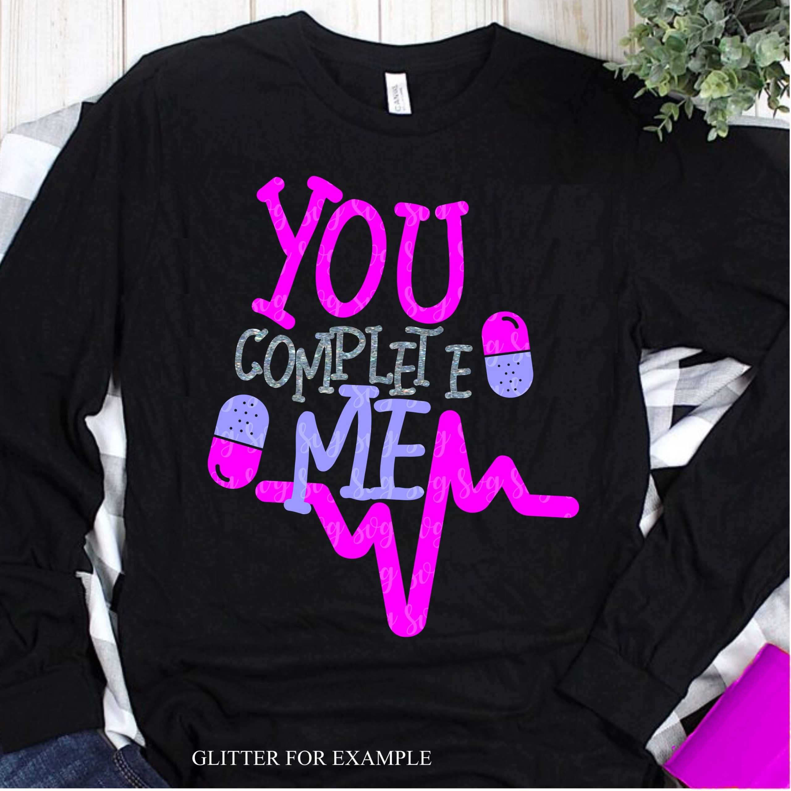 You Complete Me Svg Pill Svg Valentine Love Svg Valentine Svg Valentines Svg Valentine Tshirt Svg Svg For Cricut Love Svg Svg For Cricut