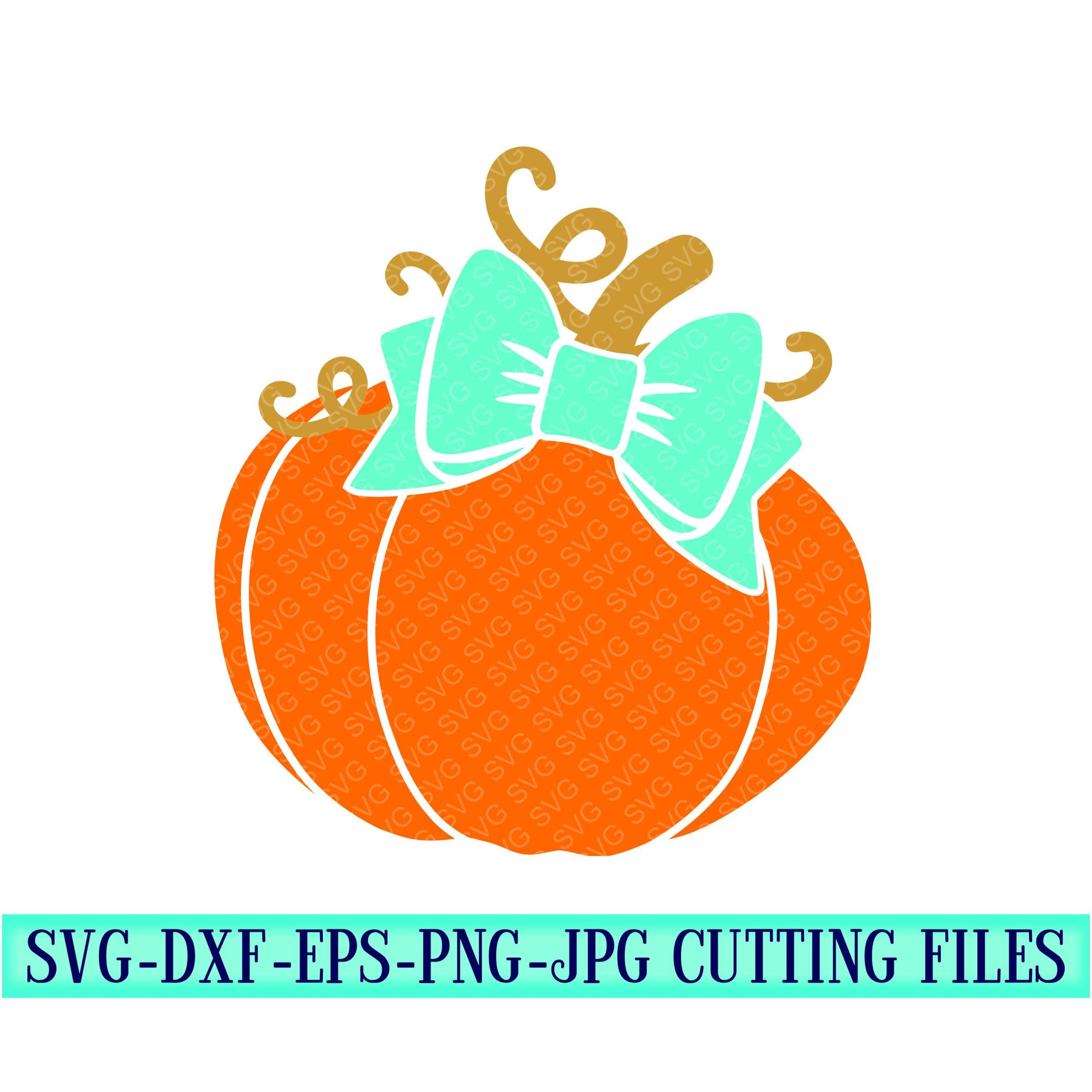Monogram-pumpkin-with-bowsvg