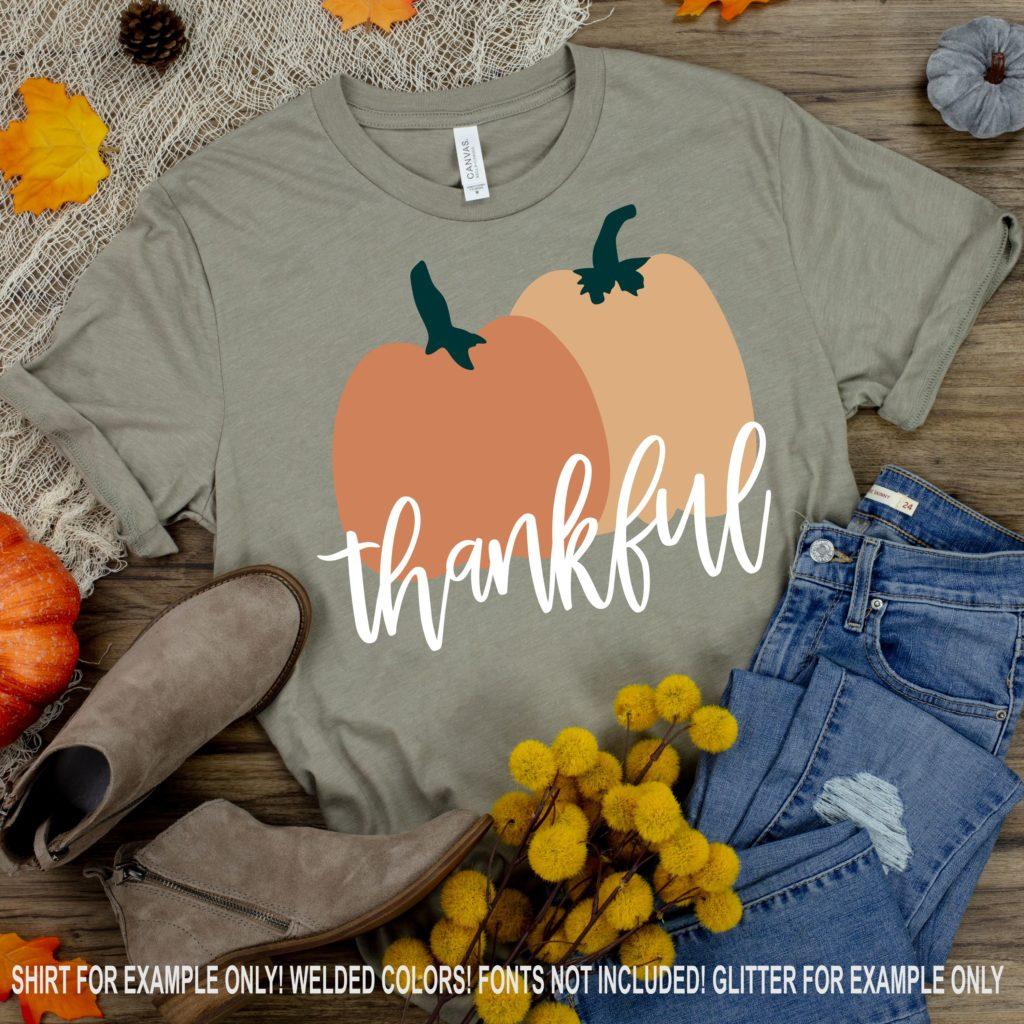 Thankful Svg Pumpkin Svg Pumpkins Svg Fall Svg Thankful Thanksgiving Svg Svg Digital Download Dxf Eps Svg For Cricut Svg For Cricut
