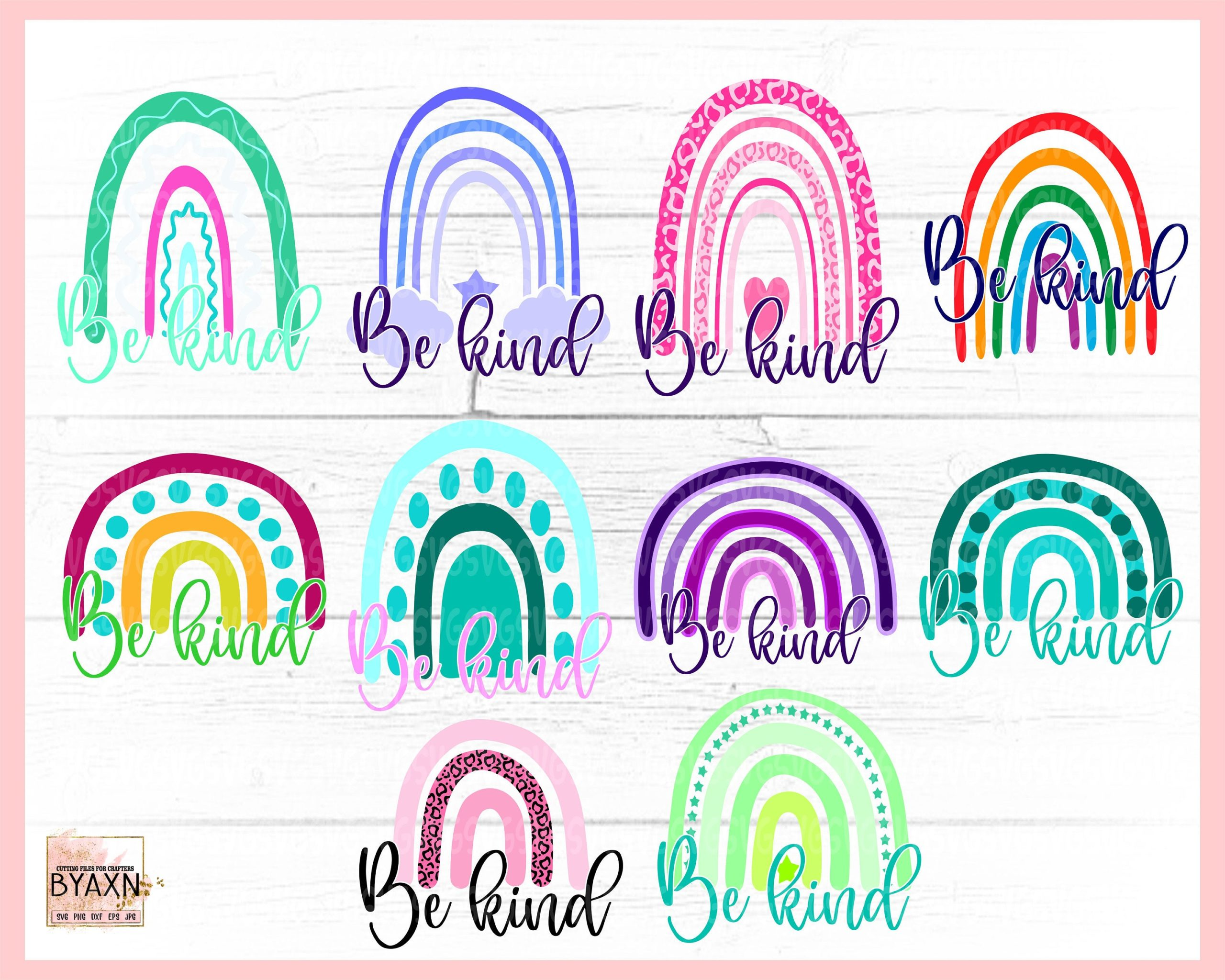 Boho-be-kind-rainbow-design-bundle-rainbow-bundle-boho-rainbow-svg-boho-rainbow-design-rainbow-cut-file-hand-drawn-rainbow-bundle-60514a00